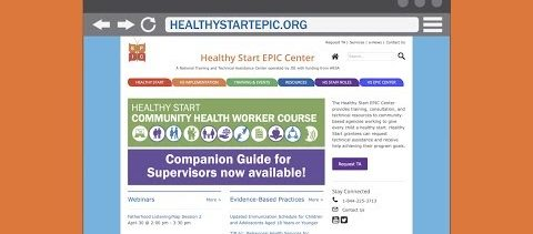 Healthy Start EPIC Center Website Tour